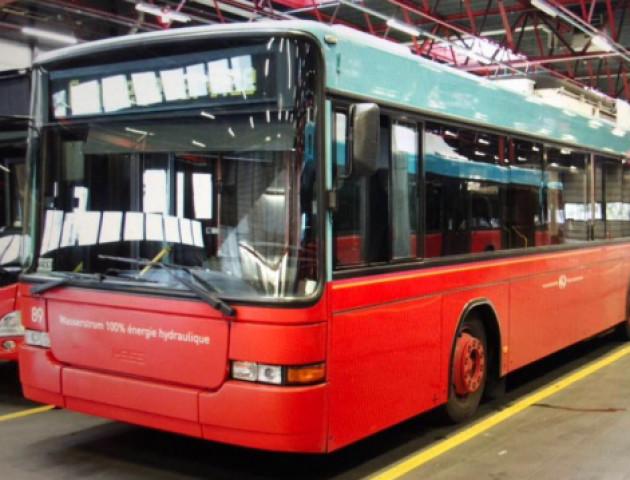 Луцьком таки курсуватимуть тролейбуси зі Швейцарії