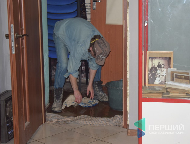 Кіностудію «Волинь» заливає нечистотами. ФОТО