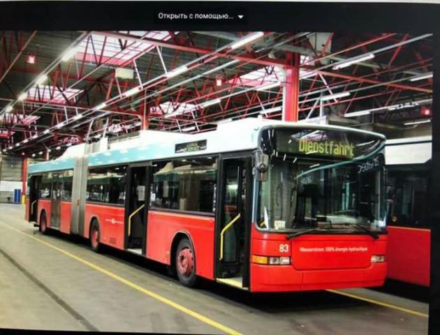 Скільки коштуватиме Луцьку один тролейбус із Швейцарії