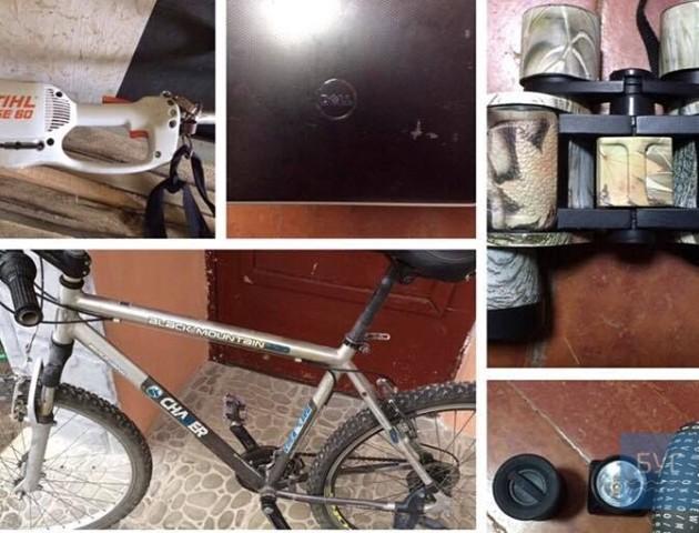 На Волині поліцейські знайшли склад крадених речей. Потерпілих просять упізнати своє