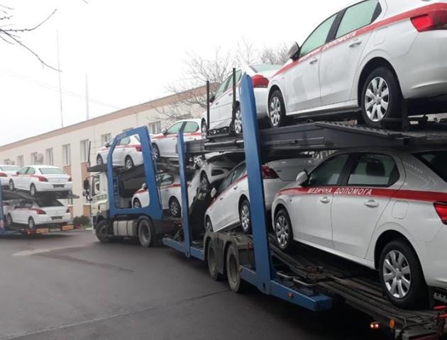 Сімейним лікарям Волині купили автомобілів на 8,5 мільйона гривень. ФОТО