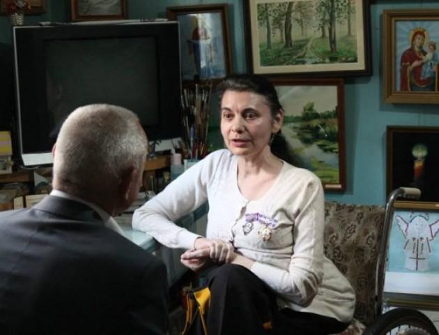 Волинянка отримала орден від Президента. ФОТО