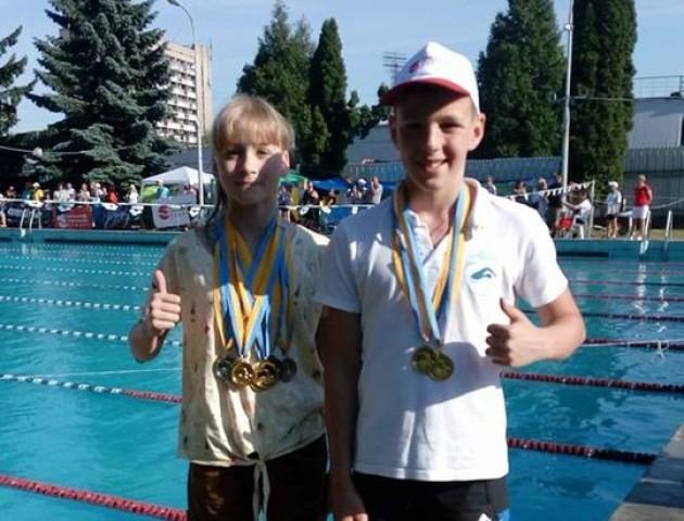 Юні лучани привезли медалі зі змагань у Львові. ФОТО