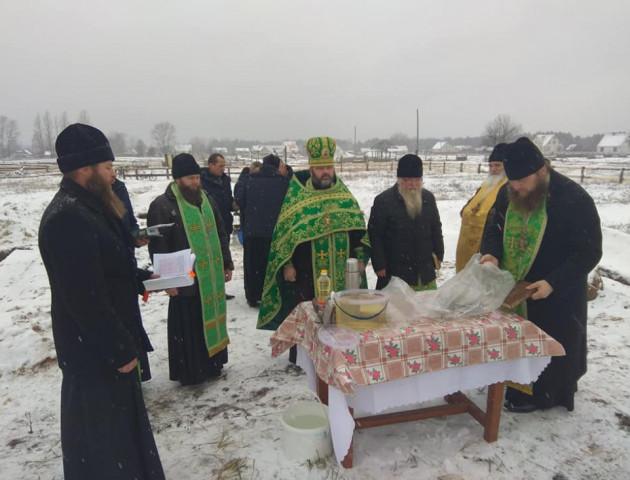 У селі на Волині будуватимуть новий храм УПЦ МП. ФОТО