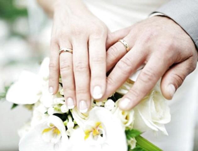 Волинь – у трійці областей, де найбільше пар одружуються повторно