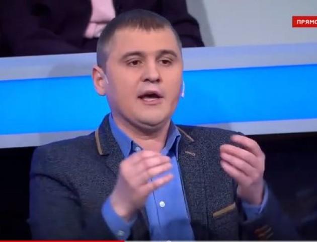 Луцький комуніст Михайло Кононович «засвітився» на російському телеканалі. ВІДЕО