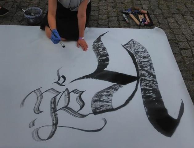 У Луцькому замку – фестиваль каліграфії. ФОТО