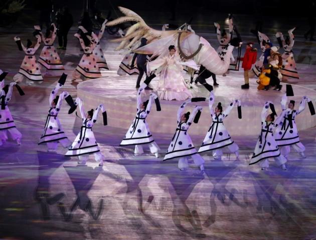 В Пхенчхані проходить церемонія відкриття Олімпійських ігор 2018. ФОТО