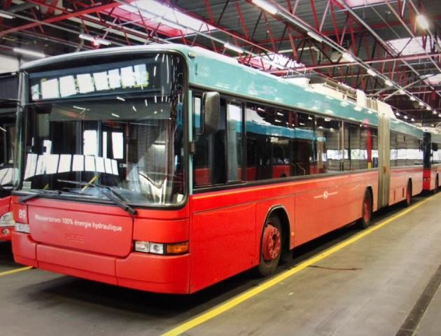 Тендер на закупівлю швейцарських тролейбусів у Луцьку не відбувся