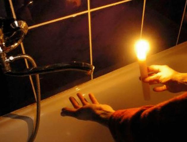 Графік відключення світла на Волині 13 грудня