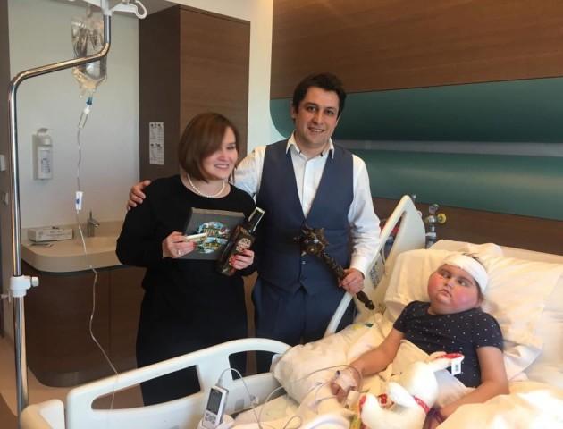 Настуся Абрамчук з Ковеля відновлюється після складної операції. ФОТО