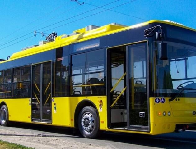 Для Луцька придбають 30 нових тролейбусів