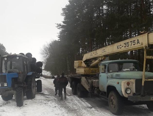 На Волині поліціяприпинила спробу вивезення труб з об'єкта державного значення