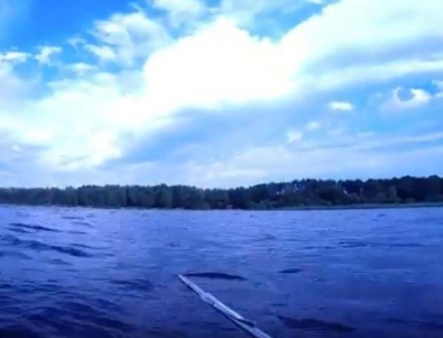 «Вогняний» підводний світ відзняли на Волині. ВІДЕО