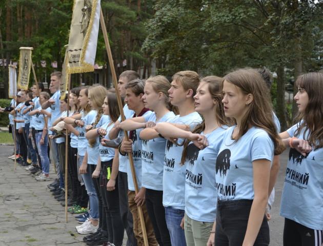 На Волині відбувся Всеукраїнський освітній табір «Хорунжий». ФОТО