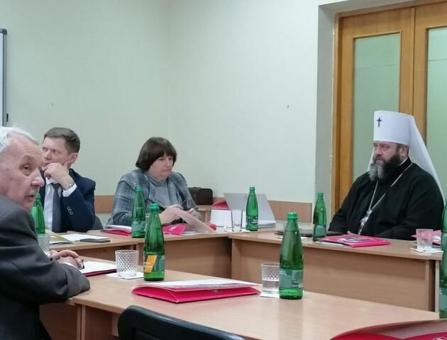 Митрополит Михаїл захистив кандидатську дисертацію