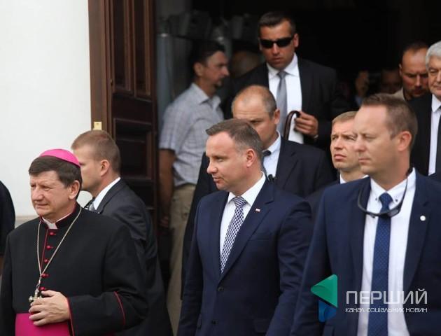 Відомо, де обідав польський президент. ФОТО