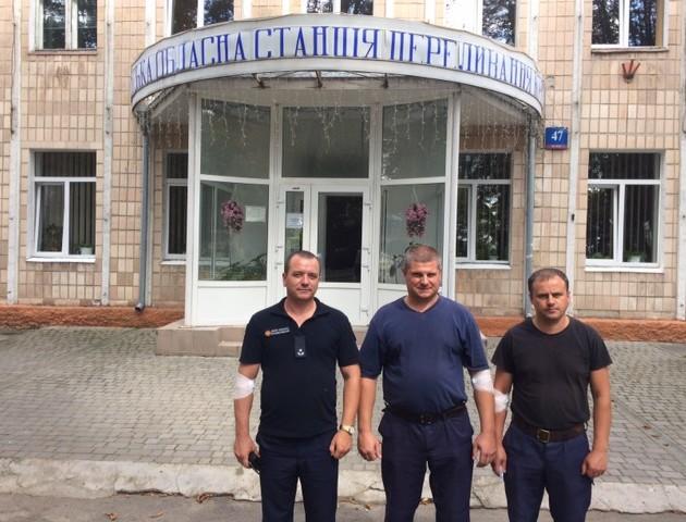 Волинські рятувальники долучились до всеукраїнської акції і здали 500 літрів крові