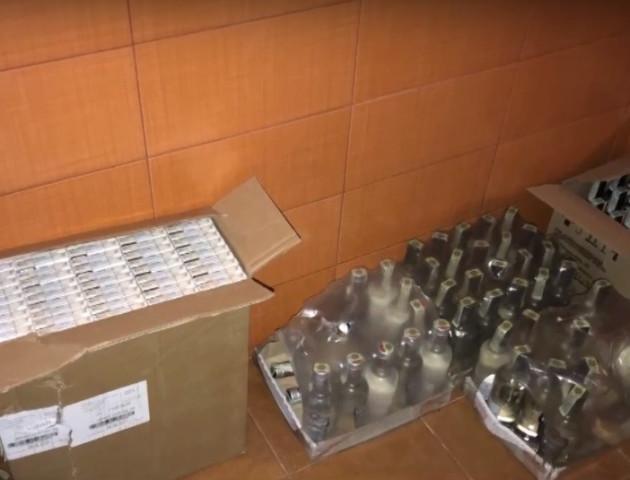 У Ковелі в контрабандистів виявили понад 3 тонни спирту. ВІДЕО