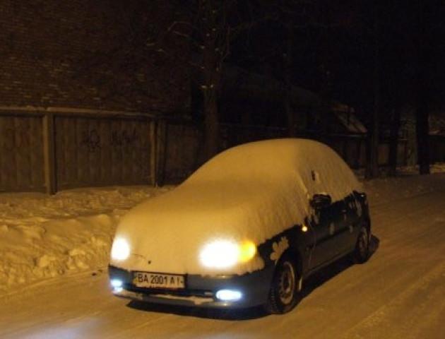 Підготовка до зими: готуємо машину і себе
