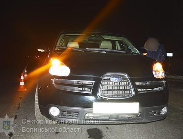 Згорів автомобіль батька прокурора, який п'яним збив на смерть жінку