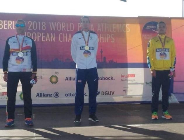 Спортсмен з Волині завоював «бронзу» на чемпіонаті Європи