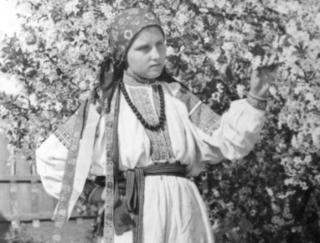 Волинська співачка 1920-1930 років. ФОТО