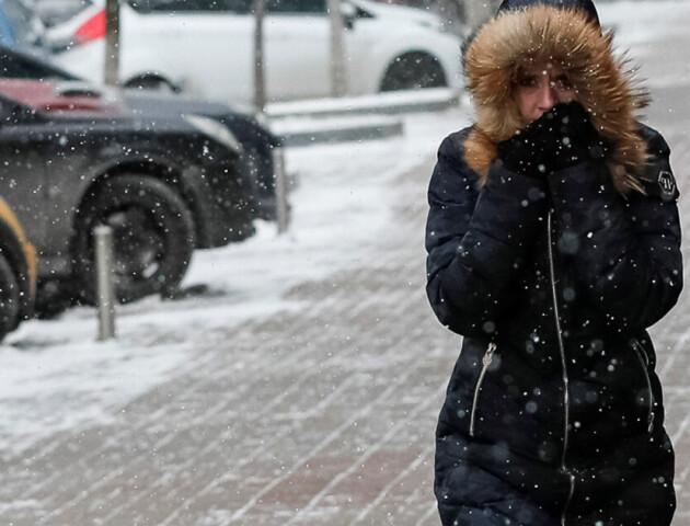 На Луцьк чекають морози до мінус 23 і снігопади. Комунальним службам доручили готуватися