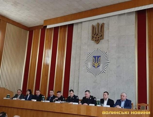 У Луцьку представили нового очільника поліції Волині