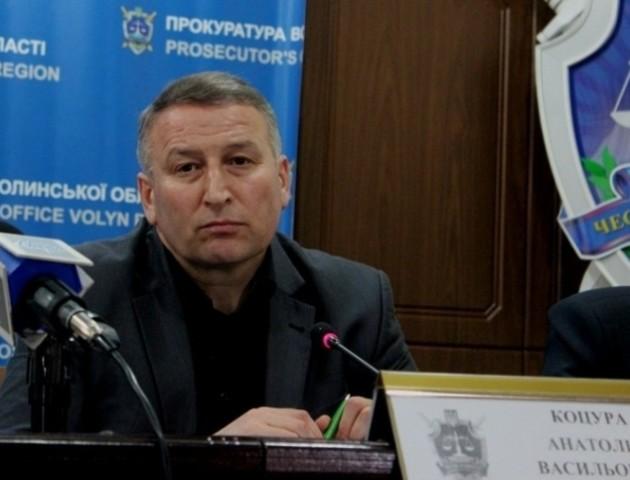 Волинського прокурора переводять на нову посаду в Крим