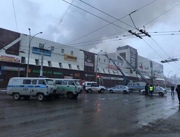 В Кемерово зносять ТЦ «Зимова вишня», де під час пожежі загинули 64 людини