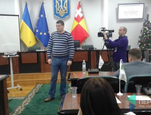 Рижков напише заяву на депутата Ткачука за штовханину