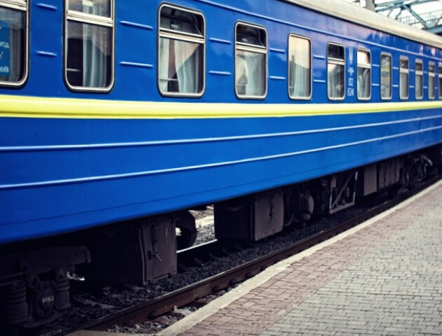 Через карантин в Луцьку не зупинятимуться потяги
