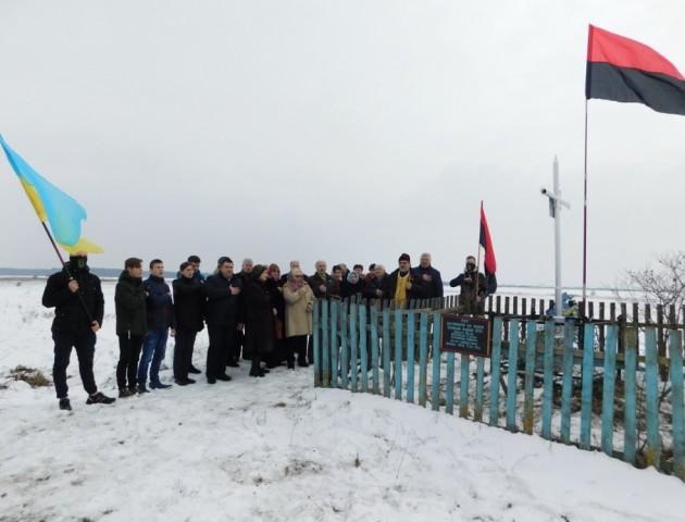 На Волині вшанували пам'ять воїнів Української повстанської армії