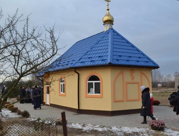 На Волині з'явився новий храм Київського патріархату. ФОТО