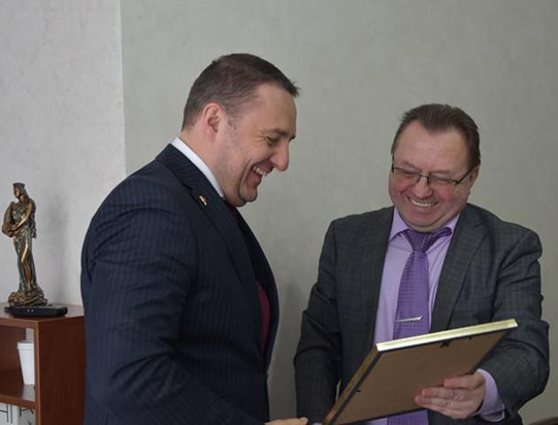 «Волиньобленерго» отримало нагороду за підтримку масштабного патріотичного проекту