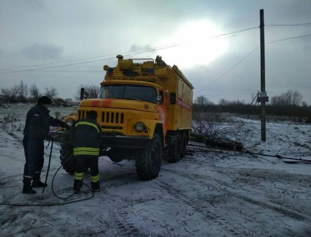 Повідомили, коли дадуть газ волинським селам, які постраждали від аварії молоковоза