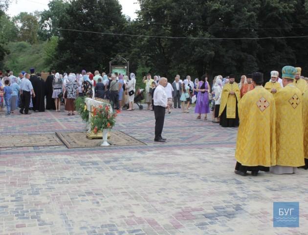 У Володимирі священики і парафіяни УПЦ МП покинули святкові заходи через вірш Кобзаря