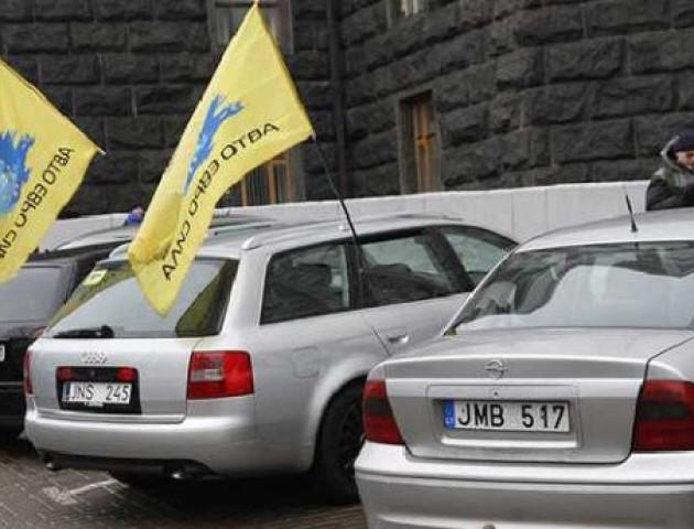 Власники нерозмитнених авто готують нову акцію протесту