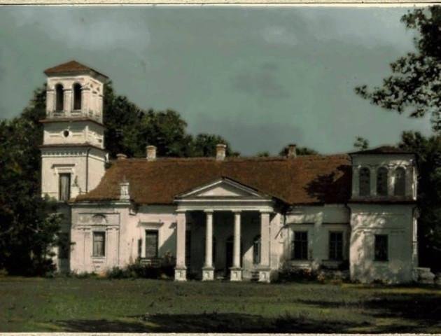 Раритетна Волинь: палац Красіцьких з'явився на кольоровій світлині