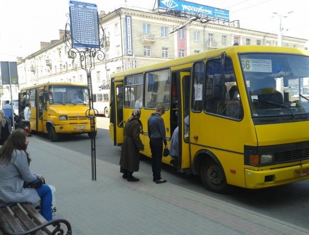 У Рівному підвищили вартість проїзду в маршрутках до 6 гривень