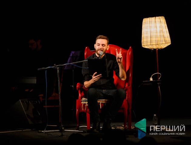 Вино та джаз: у Луцьку зіграли виставу про відому співачку. ФОТО