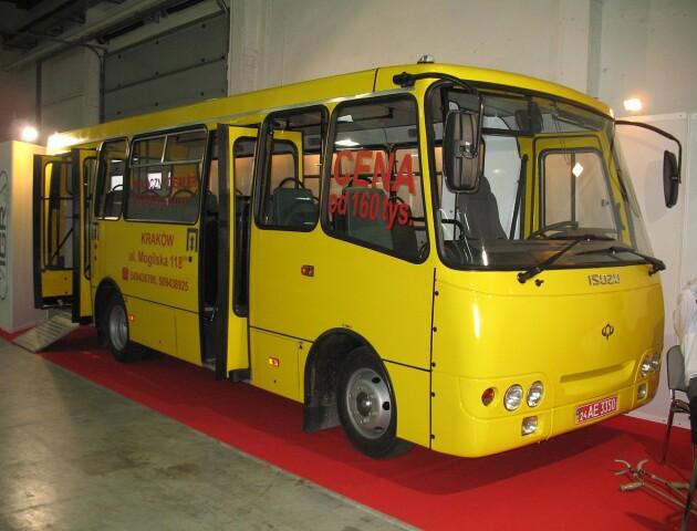 У Луцьку завод «Богдан» випускатиме автобуси, які самі себе очищають та дезінфікують