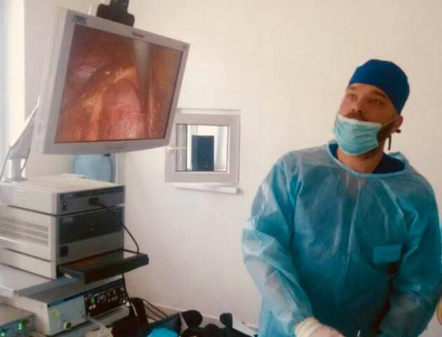 Волинський гінеколог провів першу безкоштовну операцію онкохворій жінці