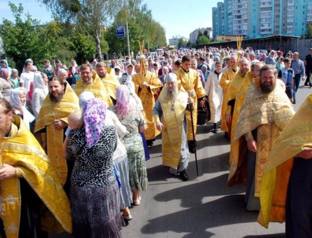 Завтра у Луцьку - хресний хід УПЦ МП
