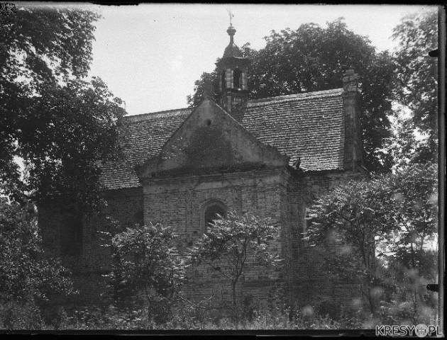 У соцмережі опублікували старі світлини костелу Петра і Павла з Олики. ФОТО