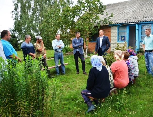 Волинський нардеп відвідав малонаселені села Любомльщини