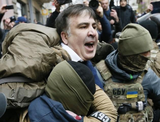 Біля Адміністрації президента побилися прихильники Саакашвілі і правоохоронці