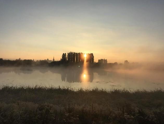Туманний ранок над Стиром. ФОТО