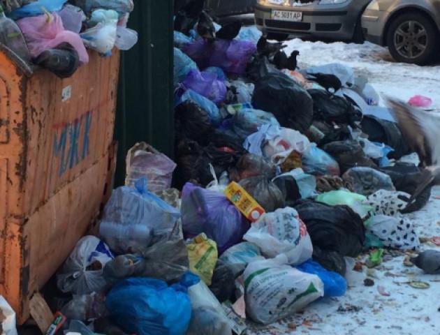 У Луцьку через гори сміття розірвали договір на вивезення відходів з «М.Ж.К.»